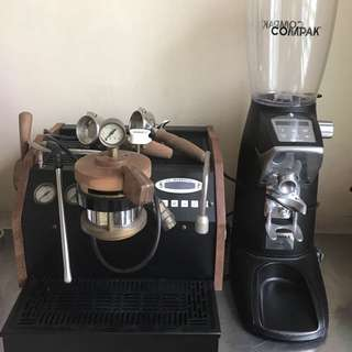Coffee Maker La Marzocco GS3 & Compak F10 fresh matt black