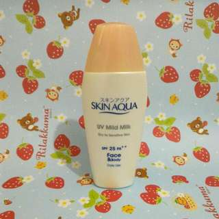 Skin Aqua UV Mild Milk SPF25PA++ For Face & Body