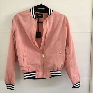 Active USA Pink Bomber Jacket