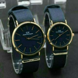 JAM TANGAN COUPLE DANIEL WELLINGTON PASANGAN 878