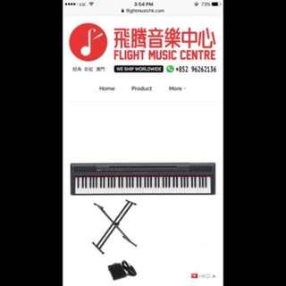 購自飛騰⚠️價錢可議‼️Yamaha P115b 電子琴