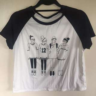 Black and White Shirts