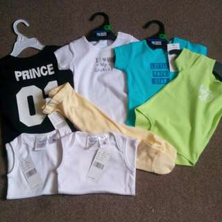 Brand New 0-6 Months Clothes