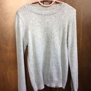 FS Grey Knitted top (From Korea)
