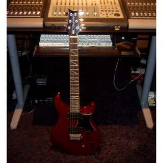 PRS Santana guitar (free Marshall amp)