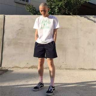 韓國素色百搭短褲