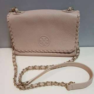 Authentic Tory Burch Chain Chain Crossbody Bag