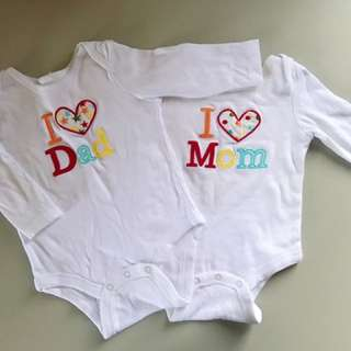 Preloved Twins Baby Romper 2for RM25