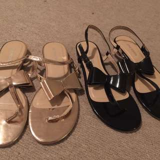 2 Pairs Emerson Sandals