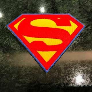 Superhero Iron On Patch Badge - Superman