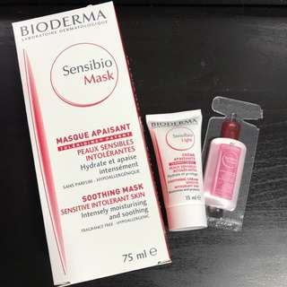 Sensibio Mask 75 ml + soothing cream 15ml