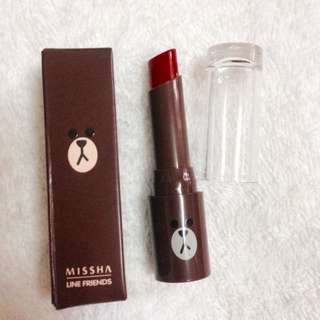 Missha Line Friends Lip Rouge SPF 17 (Made In korea)