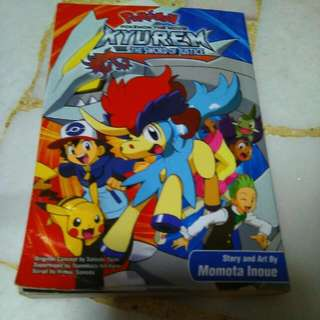 Pokémon Kyurem Vs The Sword Of Justice Comic Book
