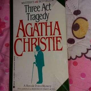 Agatha Christie Three Act Tragedy