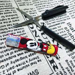 🚚 迪士尼圓型攜帶式剪刀共五款