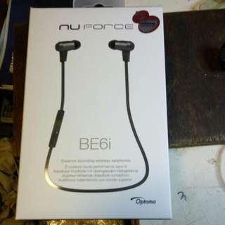 藍牙耳機 nu Force BE6i