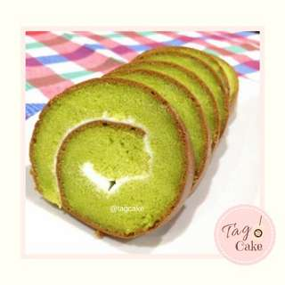 Green Tea Roll Cake