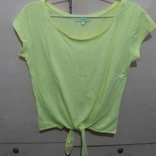Bershka Neon Kaos