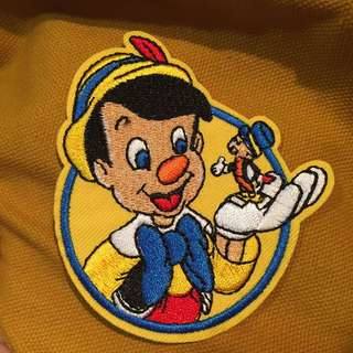 Pinocchio Iron On Patch