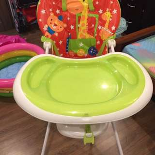 Baby High Chair Animal Prints (Mothercare)