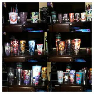 Movie Cups And Popcorn Buckets Collectibles