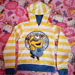 Minion Hoodie Jacket