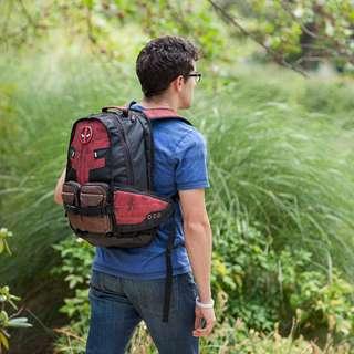 [In Stock]Deadpool Captain America Marvel Comics Super Hero Movie Civil War School Laptop Bag Backpack