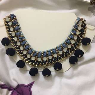 Blue Shades Necklace