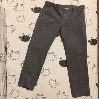 UNIQLO Grey Pants 7/8