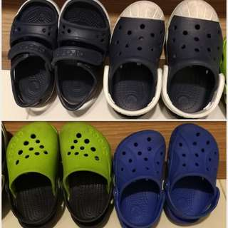 Used Authentic Crocs For Boys
