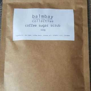 Balmbay Coffee Sugar Scrub
