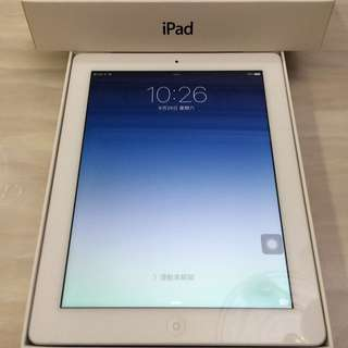 iPad3 32G Cellular 銀色 New iPad 可插Sim卡