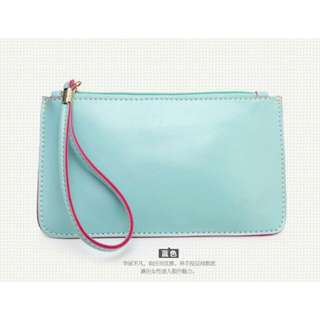 Korea candy leather pouch