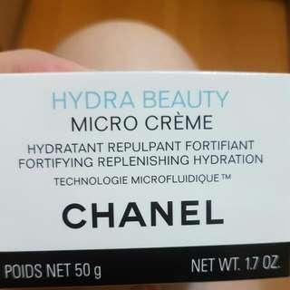 Chanel山茶花保濕微滴精萃水凝霜