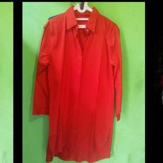 Outwear Long Sleeves Red
