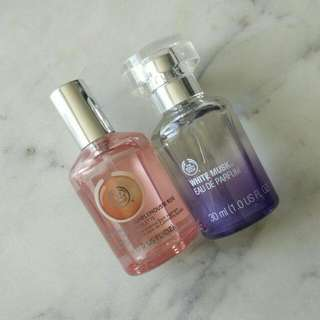 The Body Shop White Musk / Pink Grapefruit