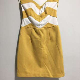 Mini Tube Dress With Pads