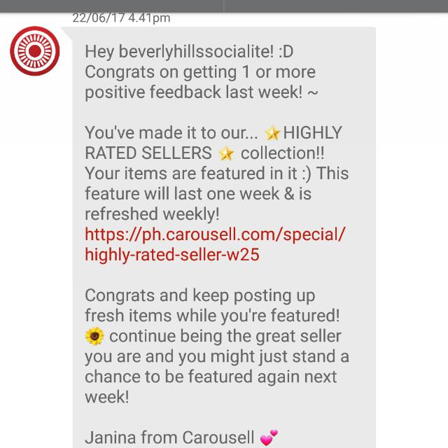 5th Time Thank You Carousell Team and Co-carousellers