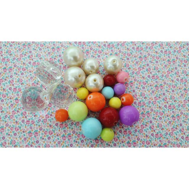 ●手作髮飾串珠材料 #七月免購物直接送