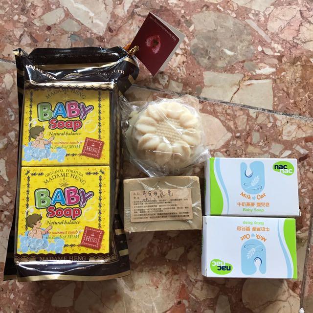嬰兒肥皂母乳皂一批