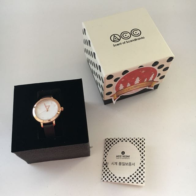 ACC:SCENT Delicate Watch
