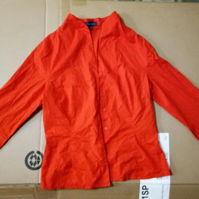 Adolfo Rodriguez Blazer Orange