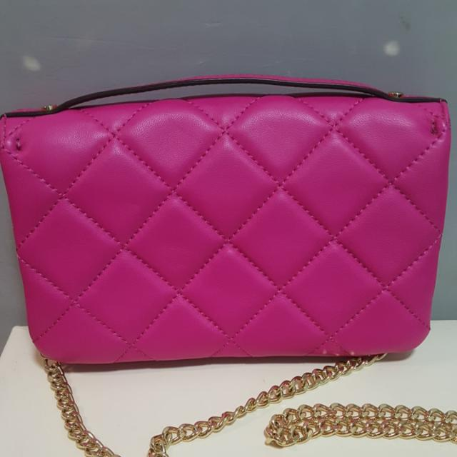Authentic Michael kors Quilted Sloan Crossbody Chain Bag