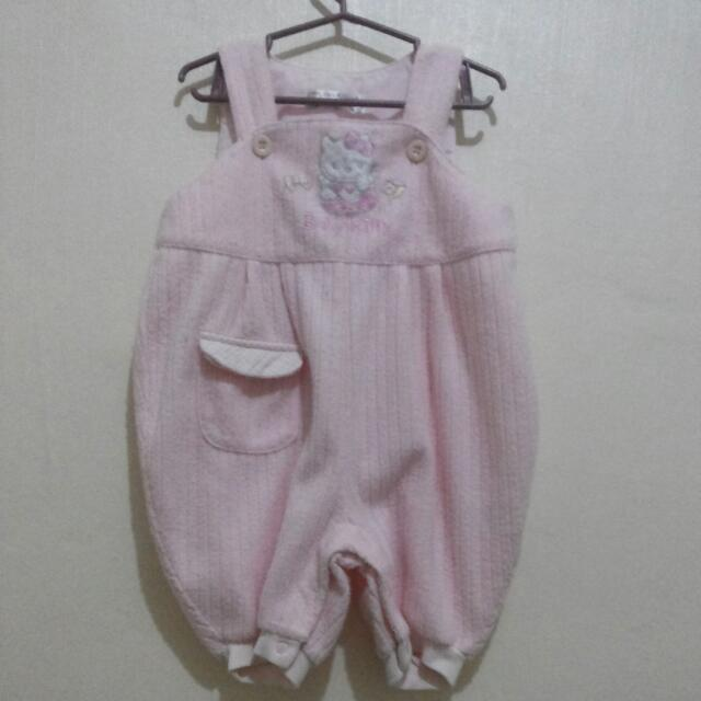 Baby kitty pink jumper