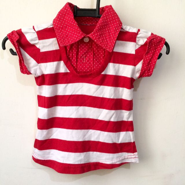Baby Red Top
