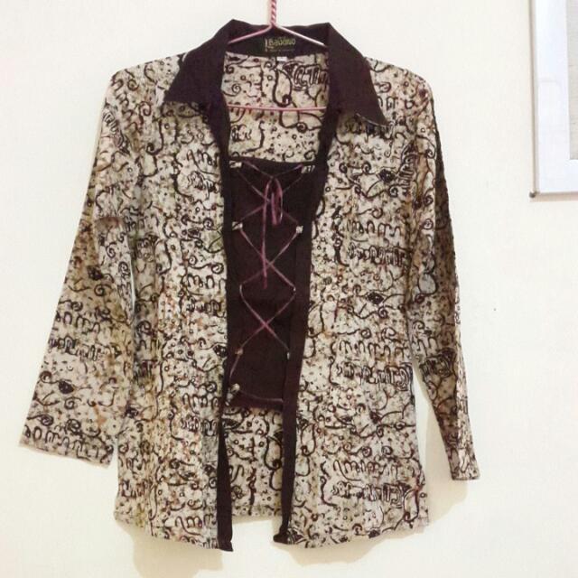 Baju Batik L Bawono