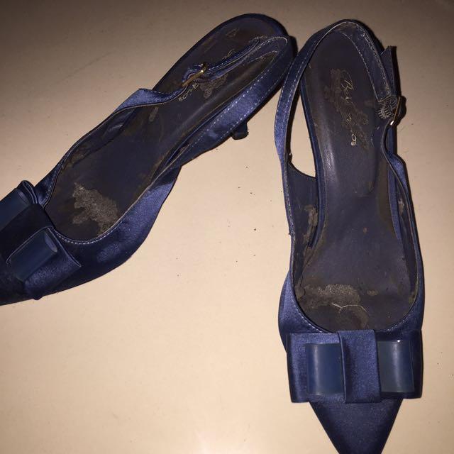 Bellagio Blue Shoes