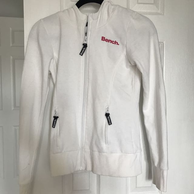 Bench White Hoodie