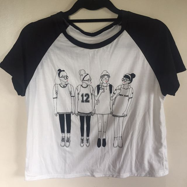 Black and White Shirts