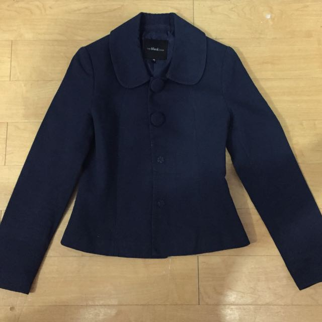 Blazer Navy Blue The Black Shop
